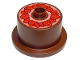 Part No: 65157pb01  Name: Duplo Food Cake with Strawberry Topping Pattern