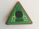 Part No: 892pb030  Name: Road Sign Clip-on 2 x 2 Triangle with Goblin Balalaika Pattern (Sticker) - Set 41185
