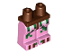 Part No: 970c104pb01  Name: Hips and Bright Pink Legs with Pixelated Zombie Pigman Pattern