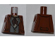 Part No: 973pb0882  Name: Torso PotC Jacket over Vest with Buttons and Dark Brown Scarf Pattern