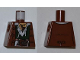 Part No: 973pb0884  Name: Torso PotC Jacket over Dark Green Vest and White Shirt Pattern