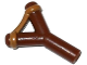 Part No: bb0664pb01  Name: Minifigure, Weapon Slingshot with Dark Tan Band Pattern