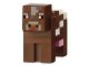 Part No: minecow01  Name: Minecraft Cow - Brick Built
