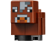 Part No: minecow03  Name: Minecraft Cow, Baby - Brick Built
