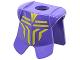 Part No: 2587pb01  Name: Minifigure Armor Breastplate with Leg Protection, Danju Geometric Pattern