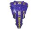 Part No: 47477c01pb02  Name: Large Figure Torso KK with Danju Pattern - Series 1