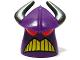 Part No: 88060pb01  Name: Minifigure, Head Modified Zurg Pattern