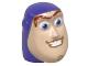 Part No: 88062pb01  Name: Minifigure, Head Modified Buzz Lightyear Pattern