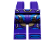 Part No: 970c00pb1032  Name: Hips and Legs with Blue and Gold Armor Panels Pattern