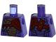 Part No: 973pb1980  Name: Torso Ninjago Snake with Black and Copper Scales, Knives and Shoulder Pad Pattern