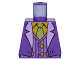 Part No: 973pb2598  Name: Torso Batman Suit with Lavender Lapels, Striped Vest, Bright Light Orange Shirt and Bright Green Tie Pattern (Joker)
