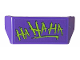 Part No: 98834pb21  Name: Vehicle, Spoiler 2 x 4 with Handle with Lime 'HA HA HA' Pattern (Sticker) - Set 76159