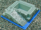 Part No: 2552px3  Name: Baseplate, Raised 32 x 32 with Ramp and Pit, Water, Gray Stones Pattern