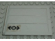 Part No: 2874pb01  Name: Door Sliding - Type 2 with Train Logo Black Pattern (Sticker) - Set 4563