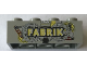 Part No: 3001pb158  Name: Brick 2 x 4 with LEGO Fabrik 2004 Pattern 2 of 3