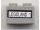 Part No: 3004pb083  Name: Brick 1 x 2 with 'Legoland-1' Pattern (Sticker) - Set 3442