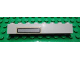 Part No: 3008pb068L  Name: Brick 1 x 8 with Light Gray / Black Grille Pattern on Left Side (Sticker) - Set 5571