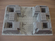Part No: 30271px3  Name: Baseplate, Raised 32 x 48 x 6 with 4 Corner Pits and Rock Raiders Pattern