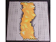 Part No: 30279px1  Name: Baseplate, Road 32 x 32 8-Stud Cracked Road and Lava Pattern