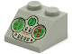 Part No: 3039px13  Name: Slope 45 2 x 2 with Green and Light Gray Controls Pattern