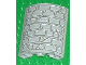 Part No: 30562px1  Name: Cylinder Quarter 4 x 4 x 6 with Stone Wall Pattern