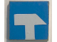 Part No: 3068bpb0151  Name: Tile 2 x 2 with Groove with Tool Sledgehammer Pattern (Sticker) - Set 6378