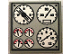 Part No: 3068bpb0168  Name: Tile 2 x 2 with Groove with Ship Controls Pattern (Sticker) - Set 8839