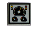 Part No: 3068bpb0204  Name: Tile 2 x 2 with Groove with Speedometer & Gauges Pattern (Sticker) - Set 8280