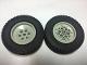 Part No: 32004bc01  Name: Wheel 68.8 x 24 Model Team Type 2 (notches around wheel ring) with Black Tire 68.8 x 24 ( 32004b /  32003)
