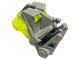 Part No: 32553c02  Name: Bionicle Head Connector Block 3 x 4 x 1 2/3 with Trans-Neon Green Bionicle Head Connector Block Eye/Brain Stalk (32553 / 32554)