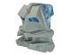 Part No: 32553c05  Name: Bionicle Head Connector Block 3 x 4 x 1 2/3 with Trans-Medium Blue Bionicle Head Connector Block Eye/Brain (32553 / 32554)
