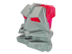 Part No: 32553c07  Name: Bionicle Head Connector Block 3 x 4 x 1 2/3 with Trans-Dark Pink Bionicle Head Connector Block Eye/Brain Stalk (32553 / 32554)