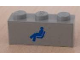 Part No: 3622pb017  Name: Brick 1 x 3 with Train Passenger Car Pattern (Sticker) - Sets 4547 / 10002