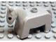 Part No: 4009pb01  Name: Duplo Horse Pony, Eyes Solid Black