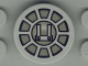Part No: 4150px19  Name: Tile, Round 2 x 2 with SW Radial Machinery Pattern