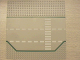 Part No: 425p02  Name: Baseplate, Road 32 x 32 3 Lane with Green Lines, White Dashed Lines, and Crosswalk Pattern