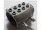 Part No: 43121c04  Name: Engine, Large with 4 Fixed Rotatable Pins