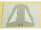 Part No: 4515pb010  Name: Slope 10 6 x 8 with SW AT-TE Back Armor Plate Pattern (Sticker)