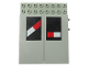 Part No: 4707pb04  Name: Electric, Train 12V Remote Control 8 x 10 with Level Crossing Pattern