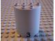 Part No: 6259pb007  Name: Cylinder Half 2 x 4 x 4 with '3' Pattern (Sticker) - Set 6339