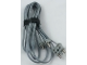 Part No: 765c96b  Name: Electric, Wire 12V / 4.5V, 96 Studs Long with two 1-prong connectors and one 2-Way Male Squared Narrow Long with Center Pin