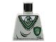 Part No: 973px147  Name: Torso Harry Potter Uniform Slytherin Shield Pattern