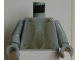 Part No: 973px150c01  Name: Torso Harry Potter Peeves Pattern / Light Gray Arms / Light Gray Hands
