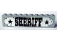 Part No: BA010pb01  Name: Stickered Assembly 10 x 1 x 2 with 'SHERIFF' Sign Pattern (Sticker) - Sheriff's Lock-Up
