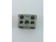 Part No: bb1136  Name: Electric, Connector, 2-Way Male Squared Narrow Long without Center Post with Center Hole - Root