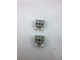 Part No: bb1136c01  Name: Electric, Connector, 2-Way Male Squared Narrow Long without Center Post with Center Hole