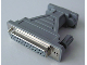 Part No: x180  Name: Electric, Connector, Serial 9 Pin Male to 25 Pin Female Adapter