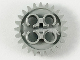 Part No: x187  Name: Technic, Gear 24 Tooth (1st Version - 3 Axle Holes)