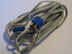 Part No: x466ac200  Name: Electric, Wire 12V / 4.5V with three Leads, with Blue Male and Female Connectors, 200cm long