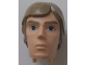 Part No: 22373pb01  Name: Large Figure Head Modified SW Luke Skywalker Pattern